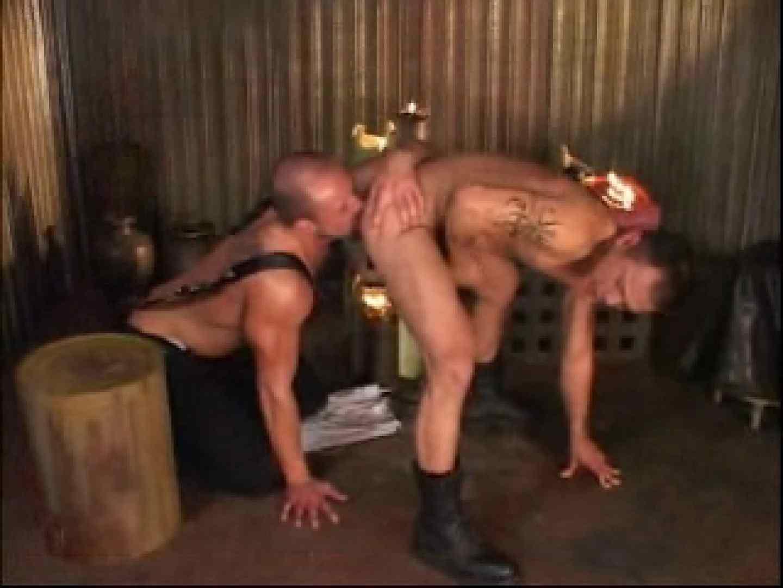 ワイルドでガタイの良い外人さんの野獣的SEX! 完全無修正で! ゲイ無修正ビデオ画像 13画像 2