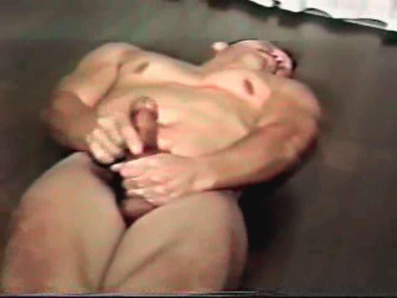 コワモテ風中年男がオナニーを公開!! ゲイのオナニー Guyエロ画像 14画像 3